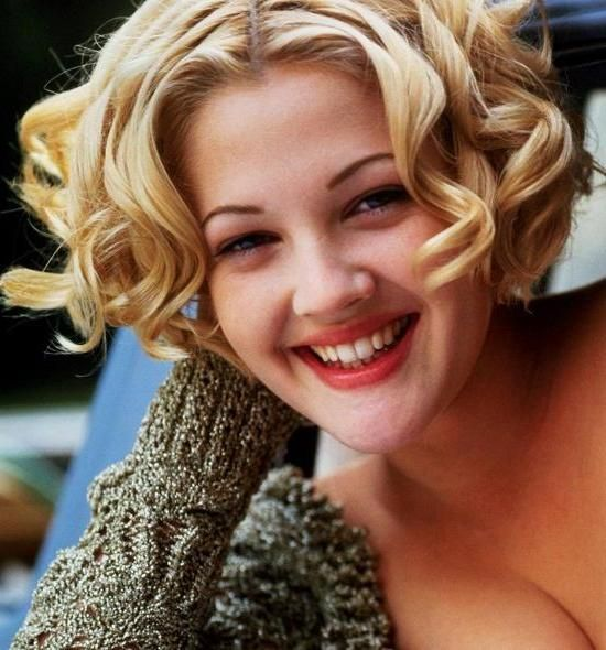 Drew Barrymore Hairstyle Short