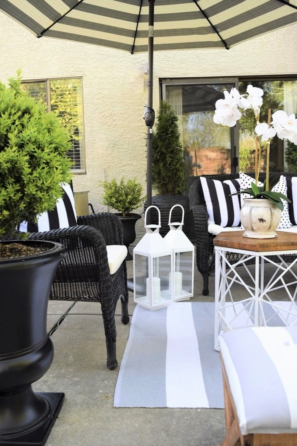 Patio 101: Bring Life to Your Outdoor Space | Patio ... on Living Spaces Outdoor Sectional id=71995