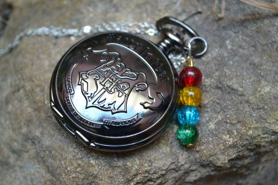 House colour beads and DA pocket watch by LittleTrinkets8D on Etsy, €16.00