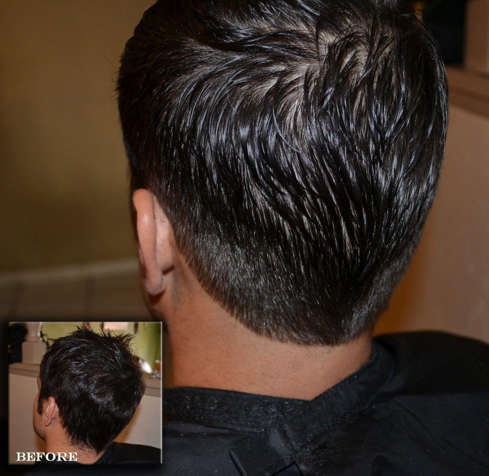 Back of head haircut amazing mens hairstyles back head