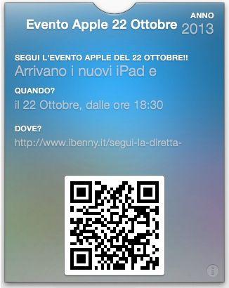 Conferenza iPad 2013 Anno