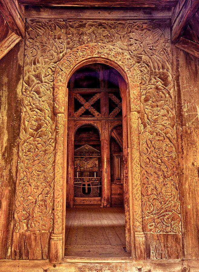 Деревянные церкви Норвегии (с изображениями)   Амбары ...