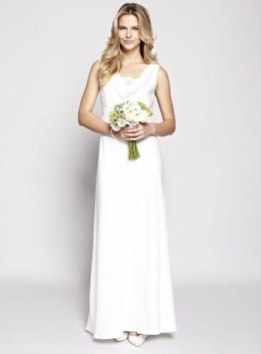 Stunning Bridal Dress Bhs Ivory Scarlett Size 12 Rrp 180 Beach Summer Wedding Wedding Dresses Size 14 Wedding Dresses With Straps Wedding Dresses Ebay