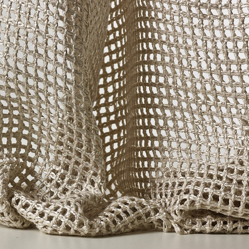 Mesh Sheer Fabric For Curtains Tressage By Dedar Carpet Fabric
