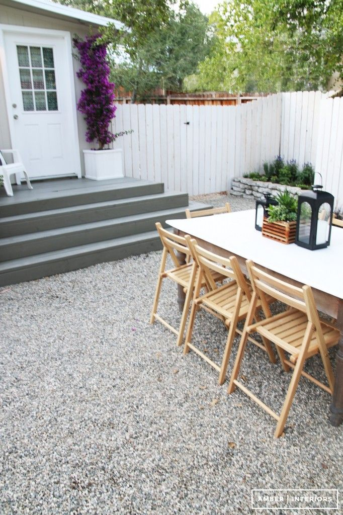 Amber Interiors // Backyard Makeover with Lowe's Home ... on Amber Outdoor Living id=60970