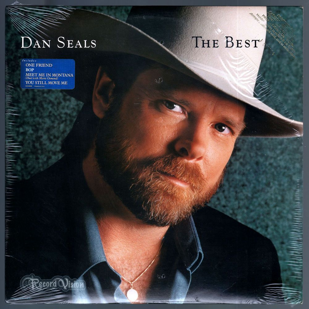 #The #Best, by #country music artist #Dan #Seals, features his highest charting songs from his previous four albums beginning with #RebelHeart (1983). The album has been certified platinum. The new track, #OneFriend was originally found on his 1984 album #SanAntone, and was re-recorded for this album, and was released as a single and became his seventh number one song in a row. #GreatestHits #BestOf #DanSeals #Vinyl #LP