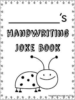 Happy Teacher Happy Kids Elementary Writing Book Jokes Teaching Writing