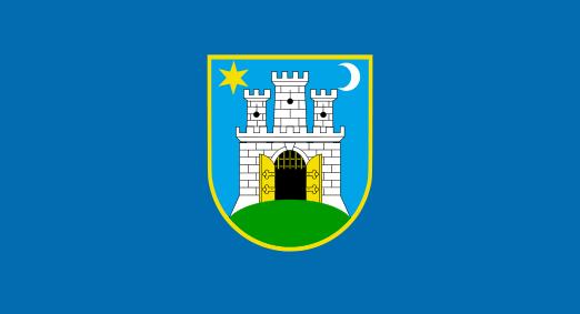 File Flag Of Zagreb Svg Wikipedia The Free Encyclopedia Zagreb Flag City Flags