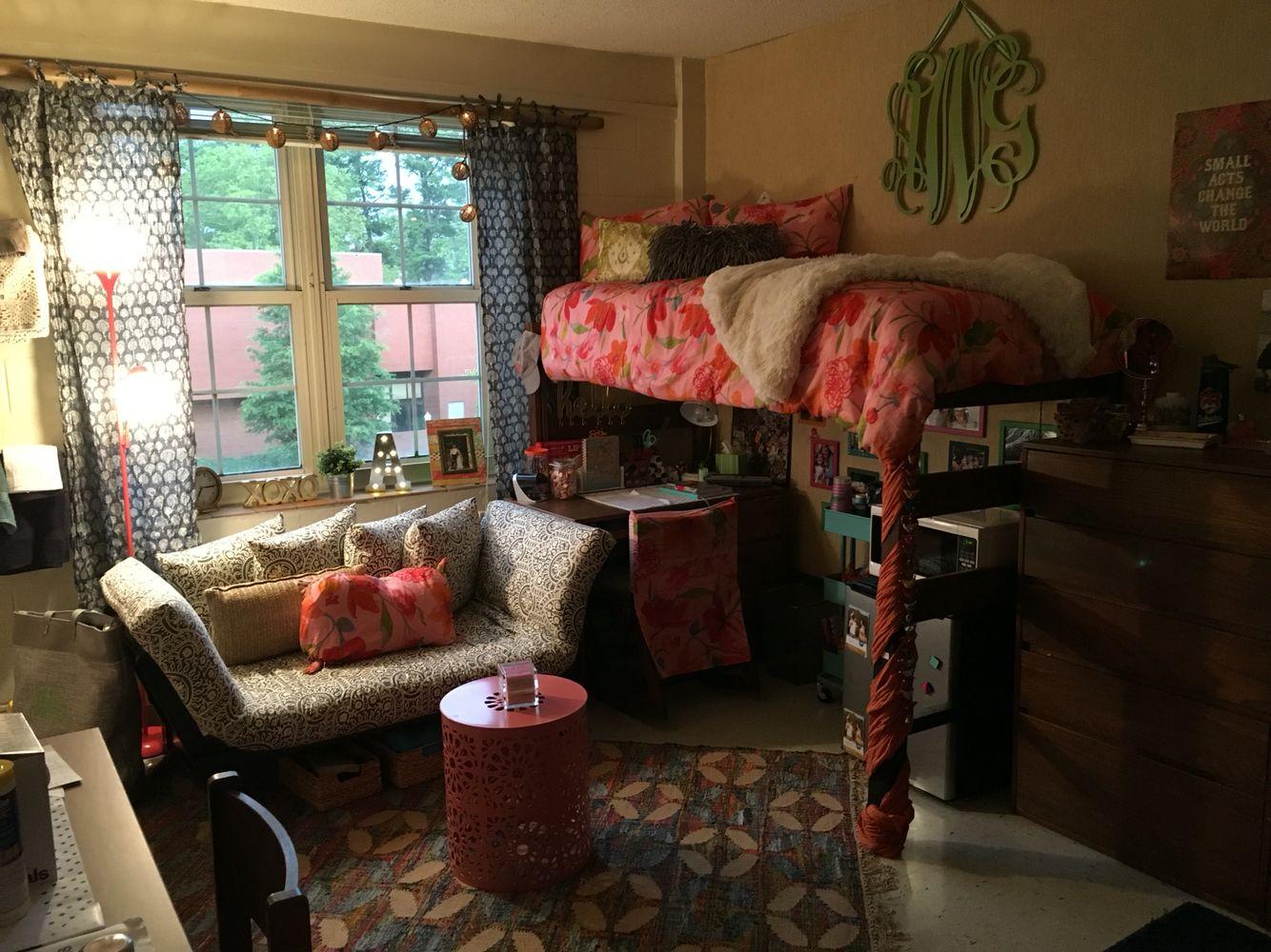 Freshman Year Dorm Room Life Auburn University Dobbs In The Hill Part 34