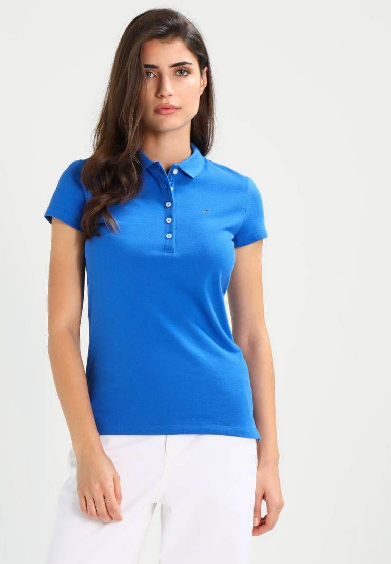Tommy Hilfiger. NEW CHIARA SLIM FIT - Poloshirt - blue ...