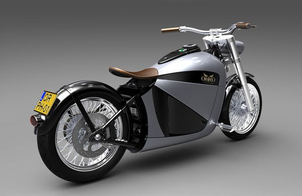 Orphiro Electric Motorcycle Brings Batteries To Retro Cruisers Moto Electrique Moto Scooter Electrique