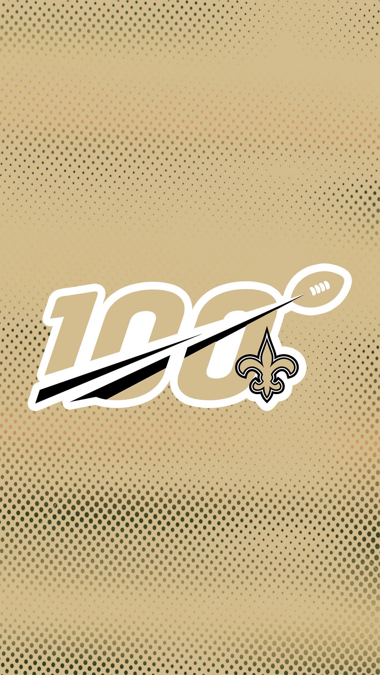 New Orleans Saints Nfl 100 Fanart Wallpaper Nfl Saints Saints Football New Orleans Saints Football