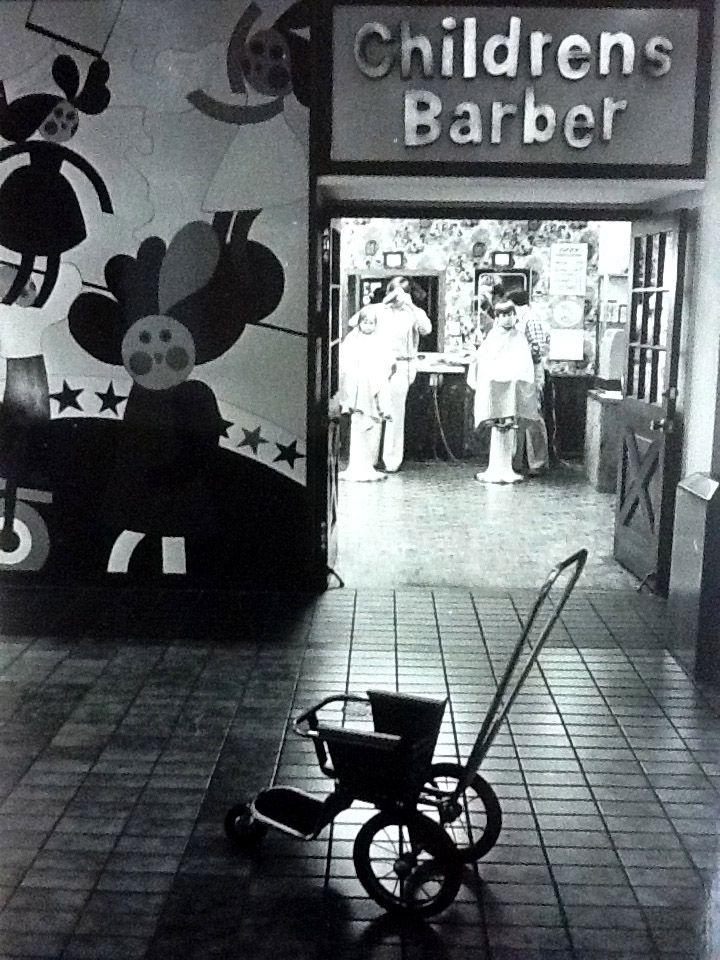 Childrens Barber Southdale Mall Edina Minnesota 1970s By
