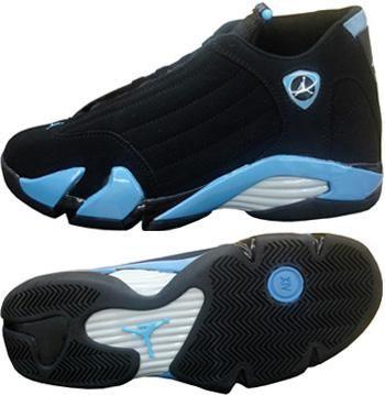 best sneakers 0f986 c2cb5 Air Jordan 14 Retro Black University Blue Metallic Silver ...