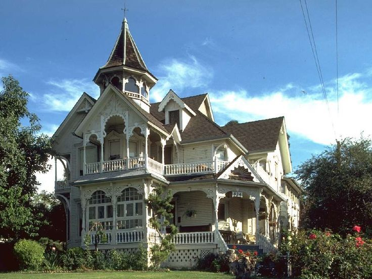 Weller Victorian House Los Angeles Ca Built In 1887 Architect George Barber Victorian Homes Victorian Style Homes Victorian Architecture