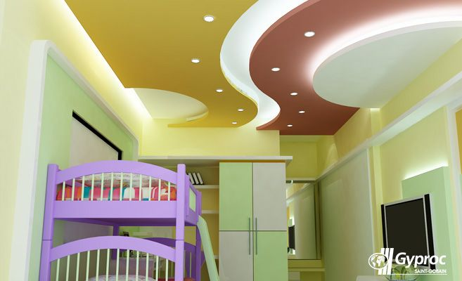 Re Design Your Home With Gyproc India Falseceiling Unleash It True  Potential False Ceiling Also Best