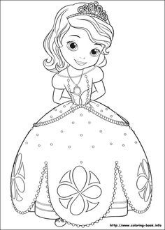 Sofia The First Coloring Picture Coloring Book Info Princess