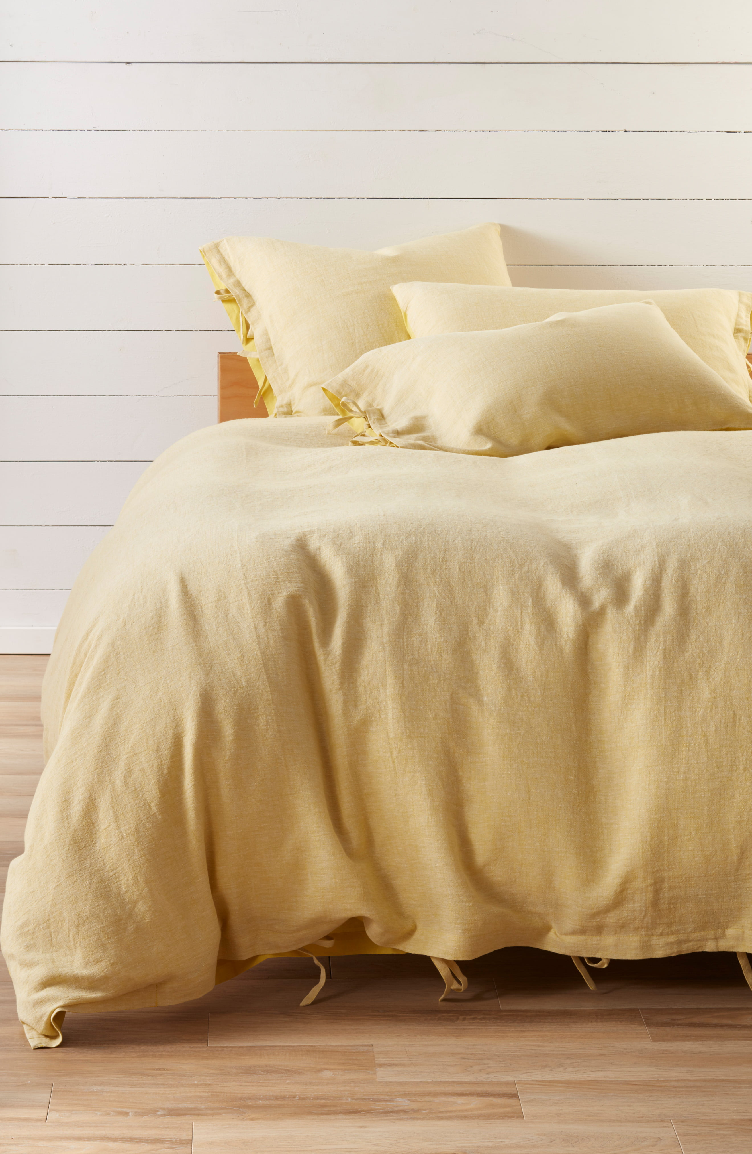 Treasure Bond Relaxed Cotton Linen Duvet Cover Bed Linen