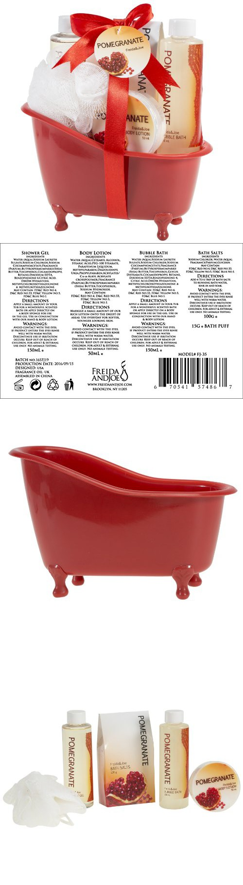 Pomegranate Tub Bath Gift Set Pinterest Products Soap Ampamp Glory Irresistibubble