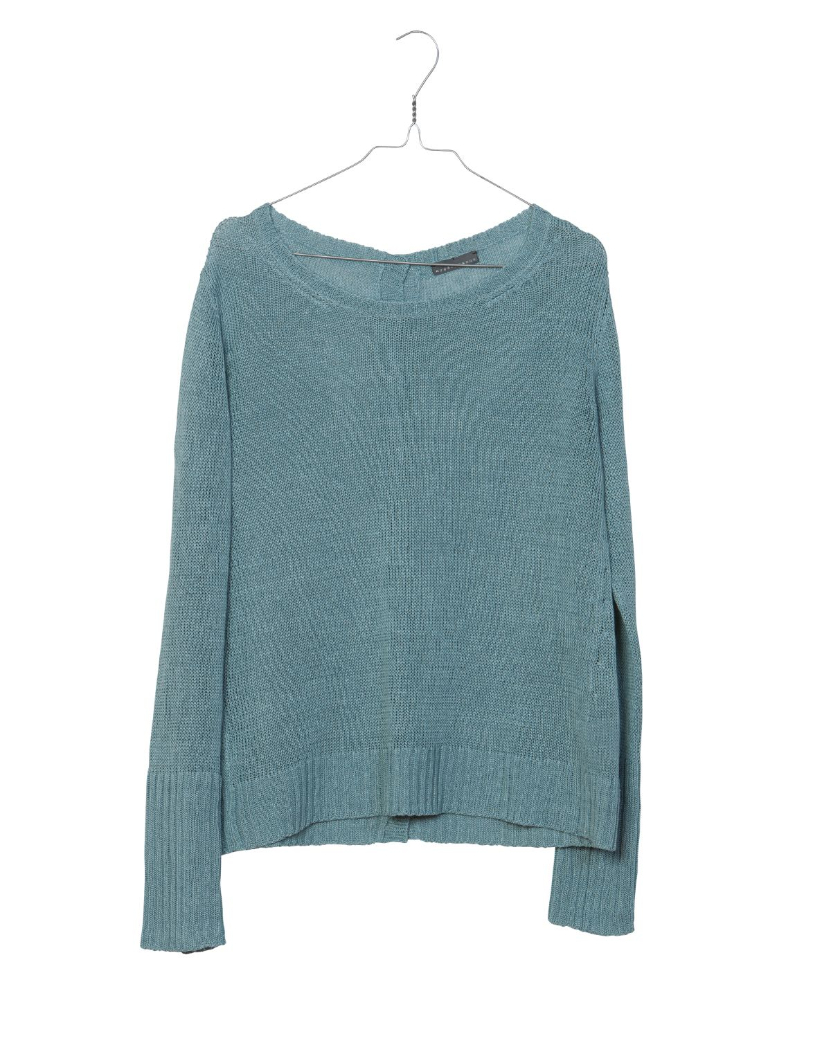 Nygards Anna Spring 2017 Knitted Linen Button Sweater