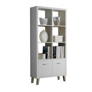 Bookcases With Doors Wayfair Co Uk