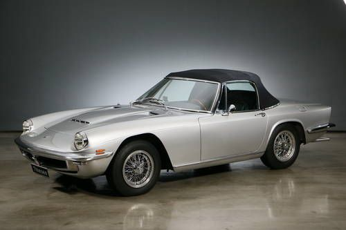 1969 Maserati Mistral 3.7 l Spider For Sale