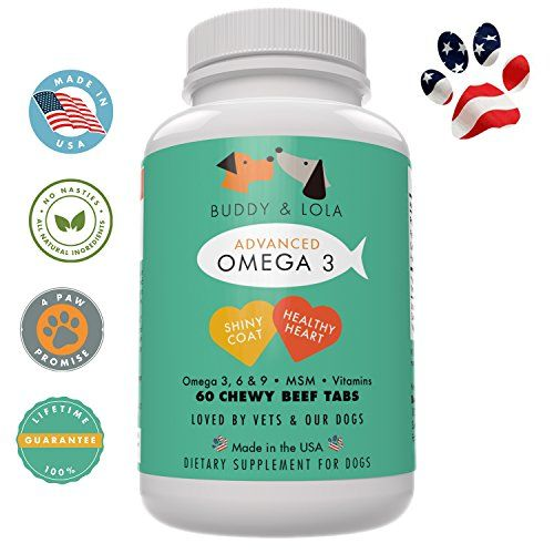 Omega 3 fish oil supplement for dogs 60 tablets pure for Fish oil capsules for dogs