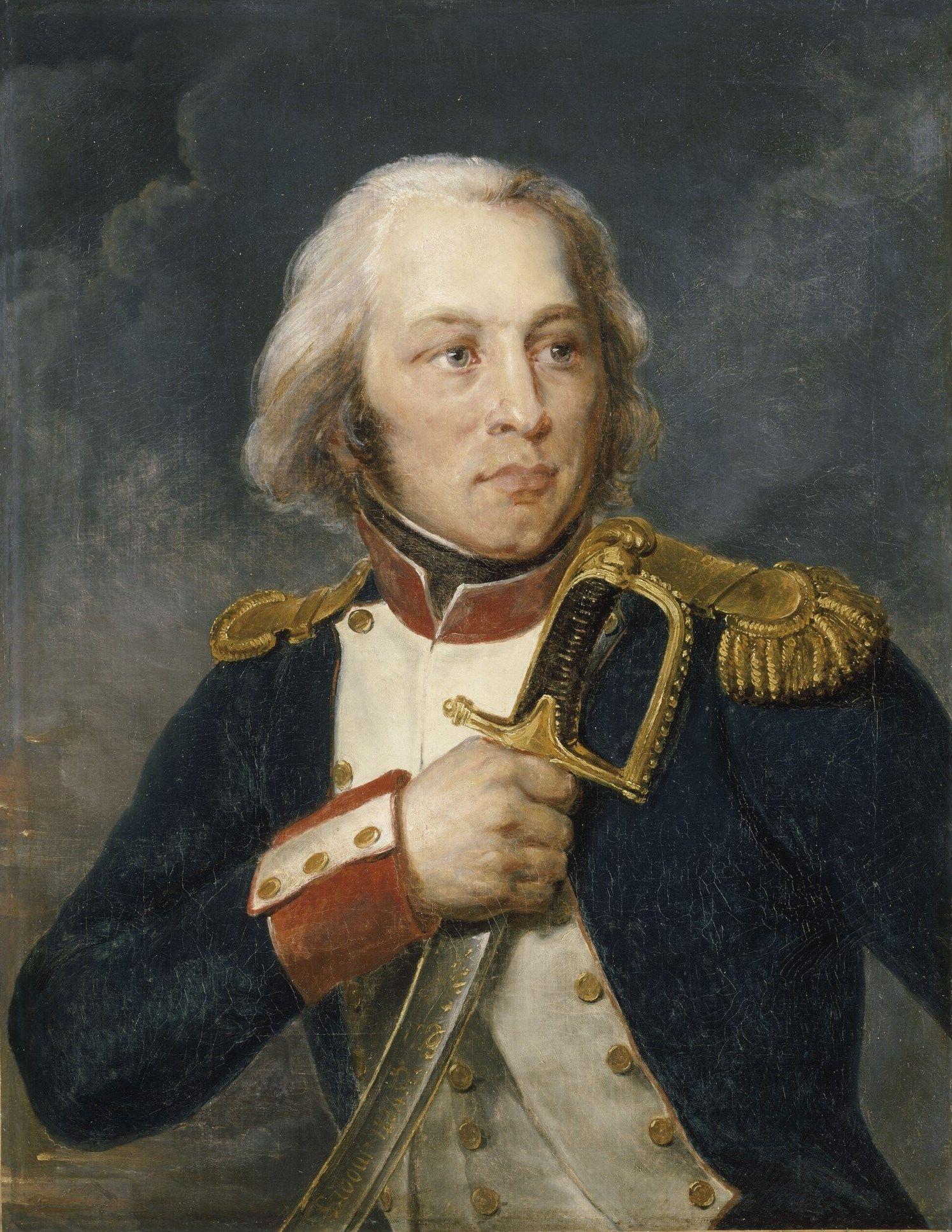 Libour, Esprit-Aimé - Claude-Jacques, comte Lecourbe  / Château de Versailles; Corps central, Grands Appartements salle de 1792
