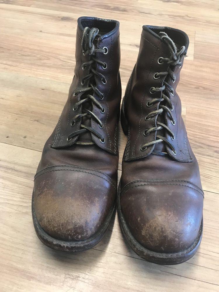 46f3eae6480 FRYE Men's Logan Cap Toe 150 Anniversary Boot - Size 11 D #fashion ...