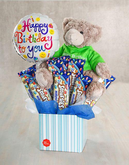 Buy Happy Birthday Smarties Milky Bar Box Online