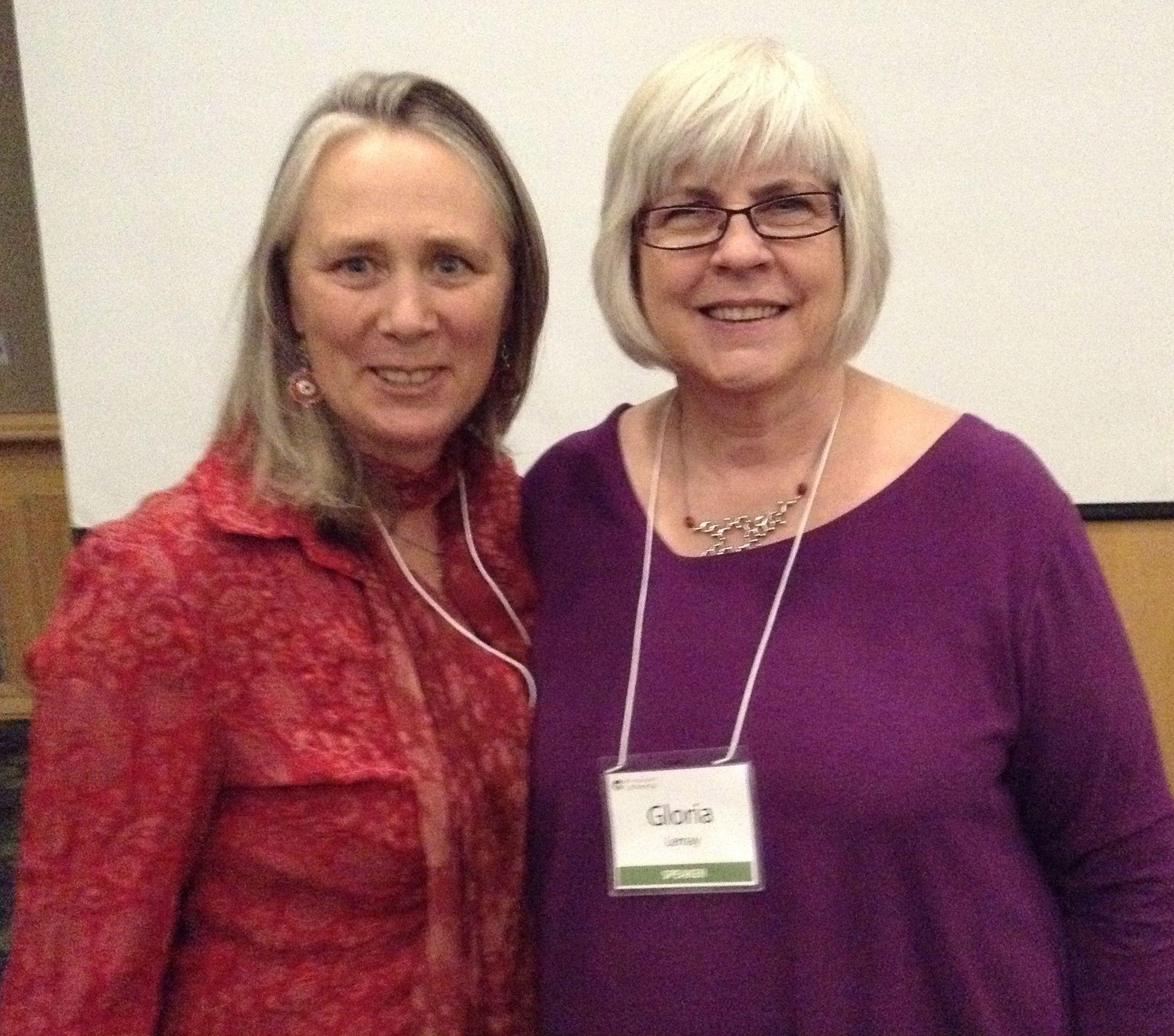 Jenn Boyes Manseau And Gloria Lemay