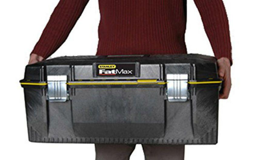Large Capacity Tool Box Storage Plastic Waterproof Seal Coffer Chest Metal Lock Stanley Tool Box Storage Plastic Box Storage Tool Box