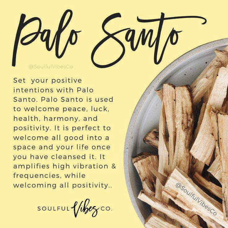 how to use palo santo to cleanse