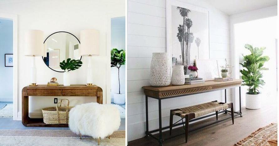 Recibidores modernos para tu casa toma nota house - Recibidores de casas modernas ...