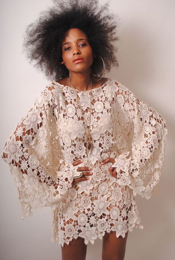 1ac10ee09da1 BELL SLEEVE vintageinspired 70s style ivory by 2DreamersBecome1, $220.00