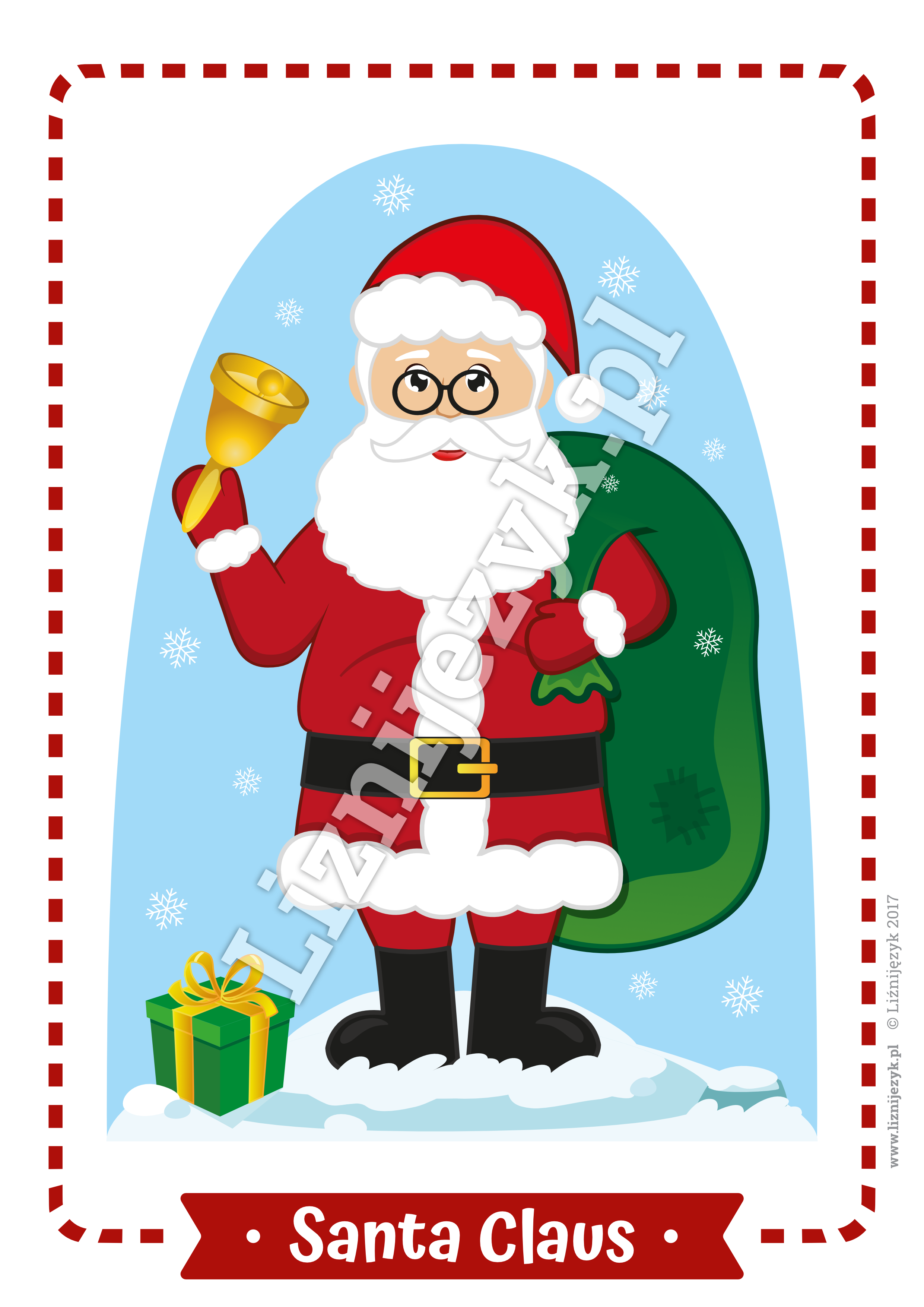 Christmas English Flashcards In 2020 Flashcards For Kids Flashcards Color Flashcards