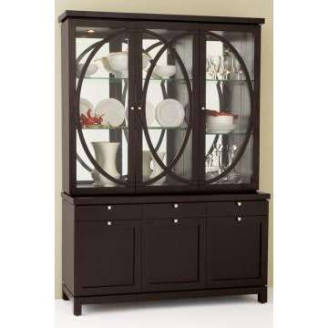 pictures of dining room modern corner hutches | coaster. broyhill