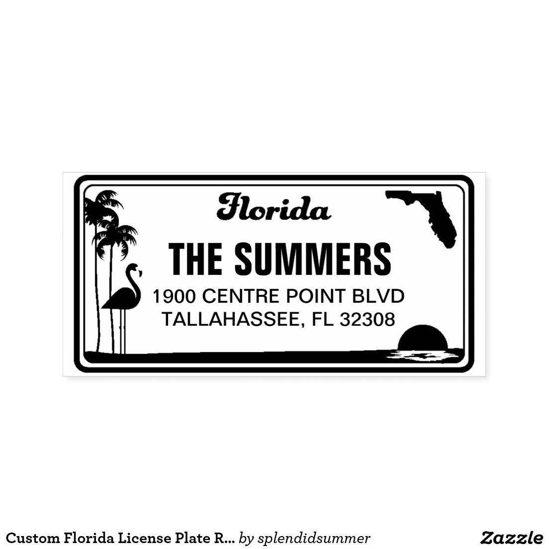Amazon.com: Miami License Plate , Miami Florida Souvenir License Plate:  Automotive