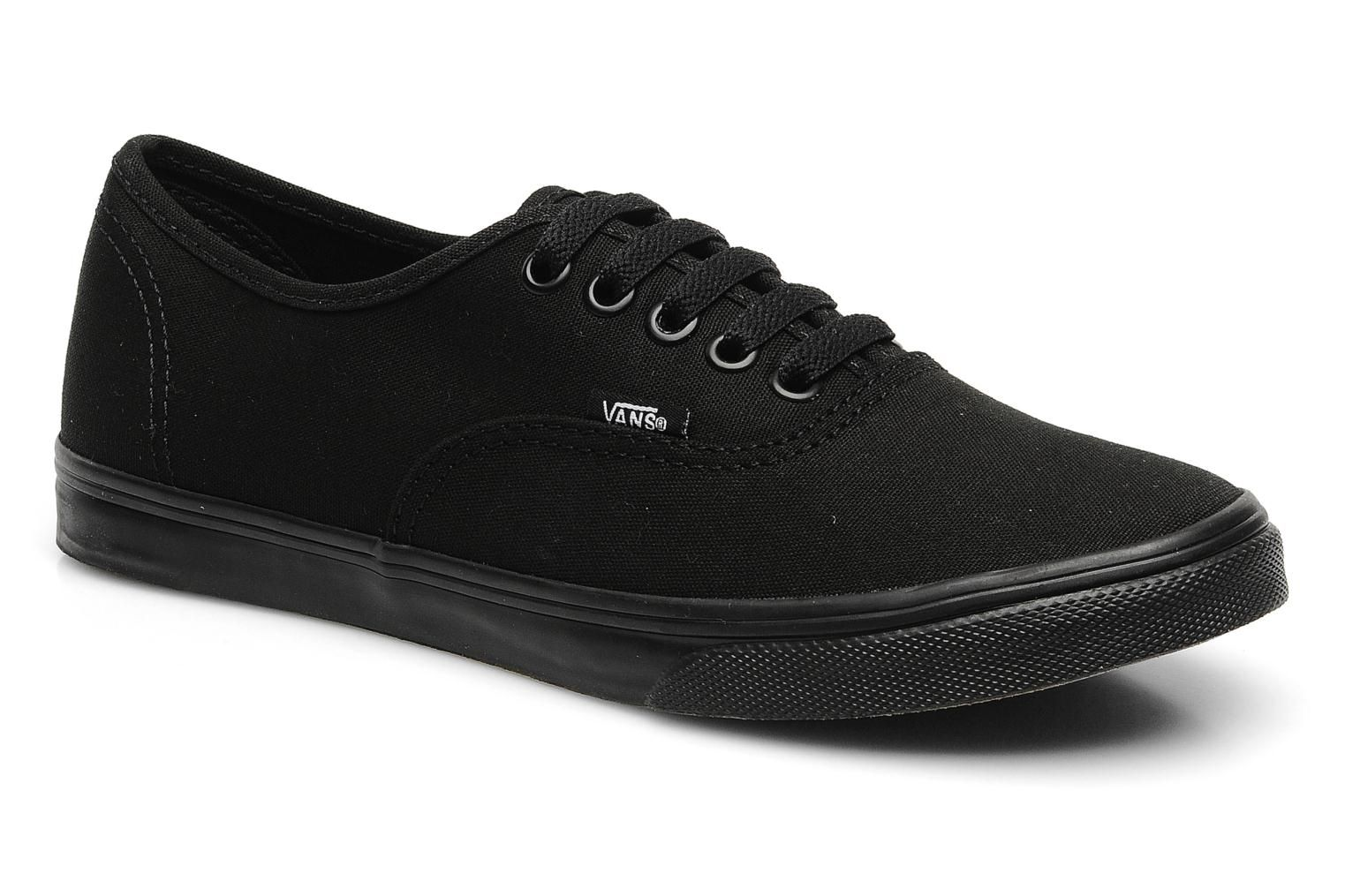 zapatos vans color negro