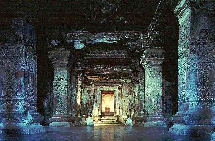 Kailasa Temple At Ellora エローラ 石の建築物【2019】 エローラ、建築物、石