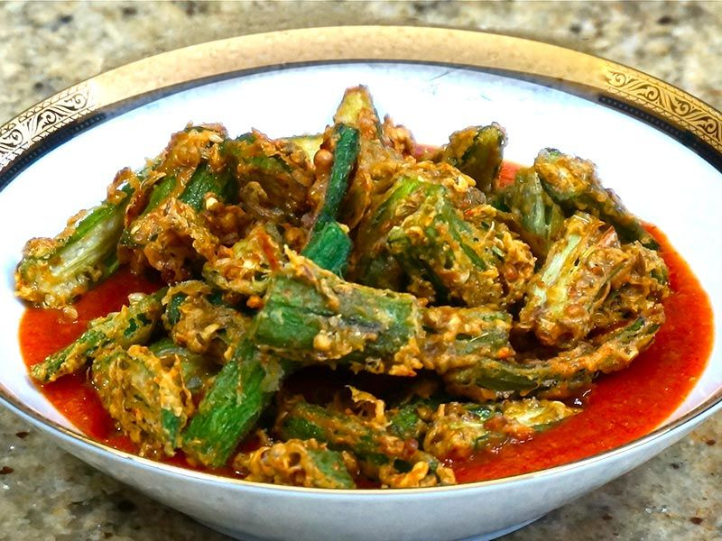 Okra tomato curry manjulas kitchen indian vegetarian recipes okra tomato curry manjulas kitchen indian vegetarian recipes cooking videos indian food over forumfinder Choice Image