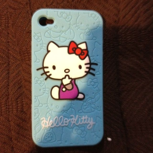 Hello Kitty iPhone case! Love it for two yrs now and still looks new! Also in pink, purple, black and white on Amazon
