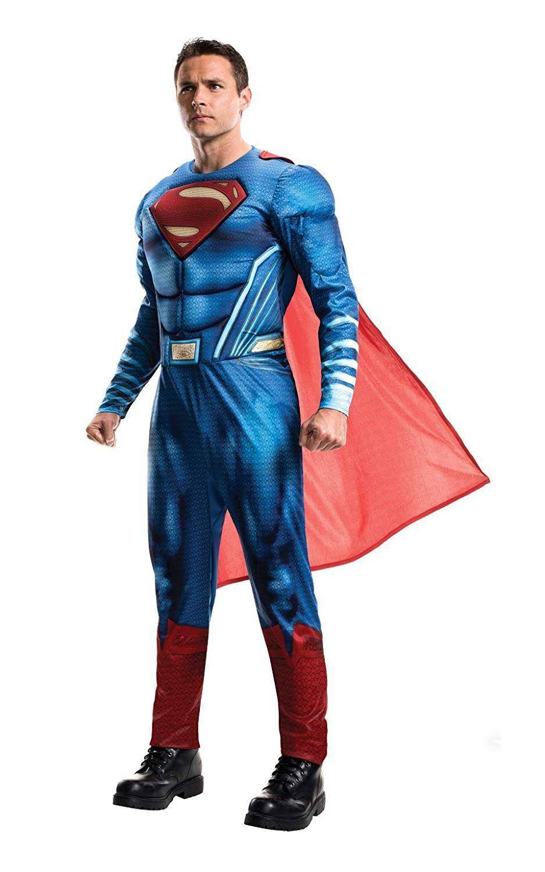 Disfraz de Superman de La liga de la Justicia para Halloween 2018  disfraces   disfraceshalloween ea0f10525cc