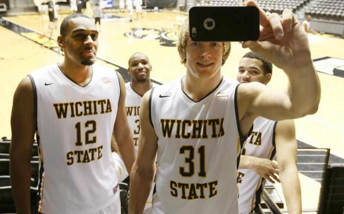 Shocker basketball 201415 Fans support the coach who