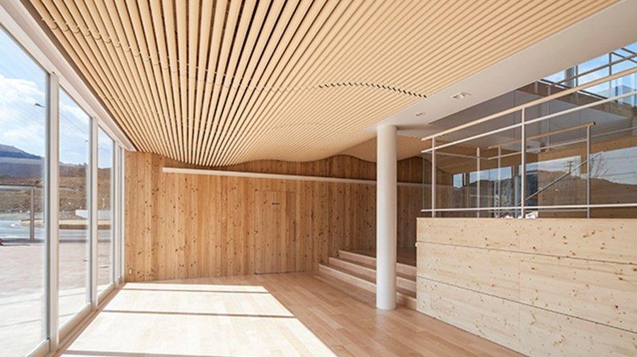 世界初の天井向け不燃紙管 建築家 天井 建築