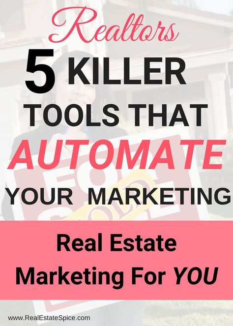 5 Real Estate Marketing Tools That make your life