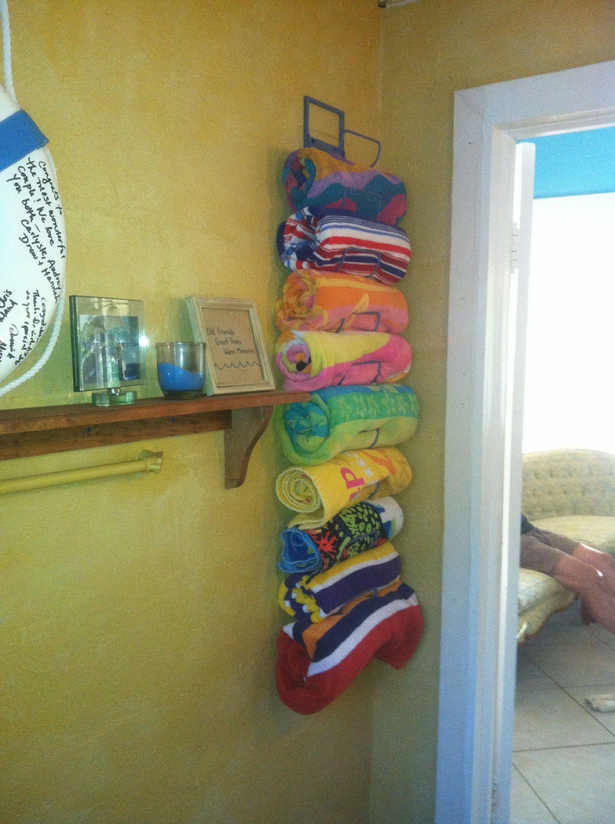 Best Lake House Decor Ideas 17 Pool Bathroom Beach Towel Storage Pool Storage