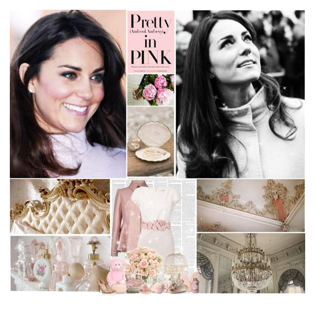 """""""She's so composed. She seems like such a lady and I think it's so nice nowadays to see someone with such nice composure and carries herself so beautifully."""" by fashiongirl1897 ❤ liked on Polyvore featuring Ted Baker, Paule Ka, Accessorize, Jardin, Whiteley, Diane Von Furstenberg, London Pottery, Demitasse and Casadei"""