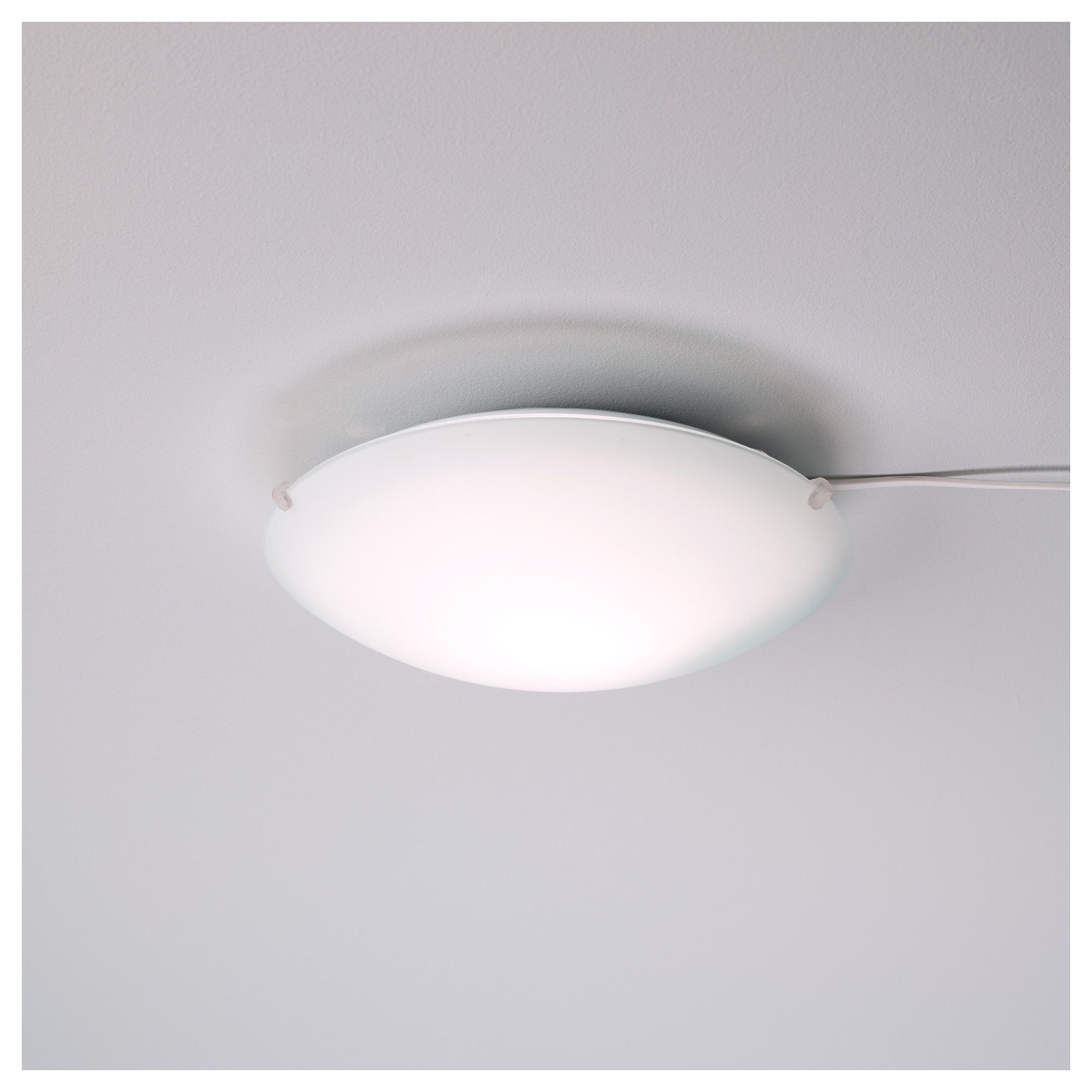 LOCK Ceiling Lamp IKEA For A Ceiling Light Cant Beat That - Flat kitchen ceiling lights