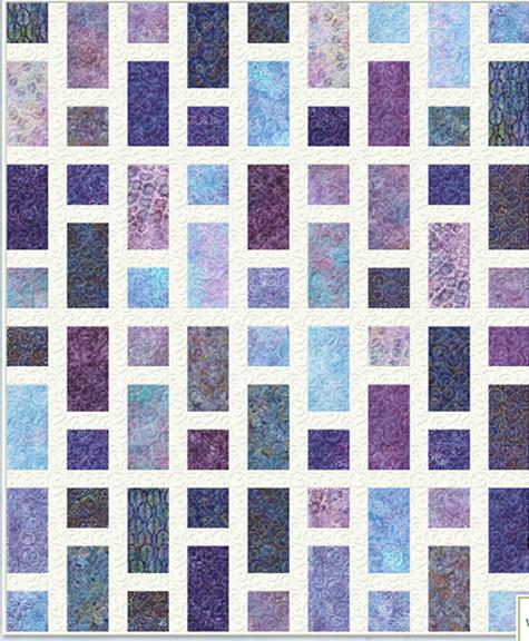 "free pattern = ""Simplish"" quilt, 56 x 70"", at Wilmington Prints   Quilts,  Quilt patterns, Modern quilt patterns free"